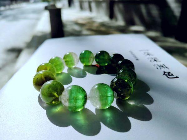 【客户返图】绿碧玺聚宝盆,大菩心的绝美碧玺,人间值得-菩心晶舍