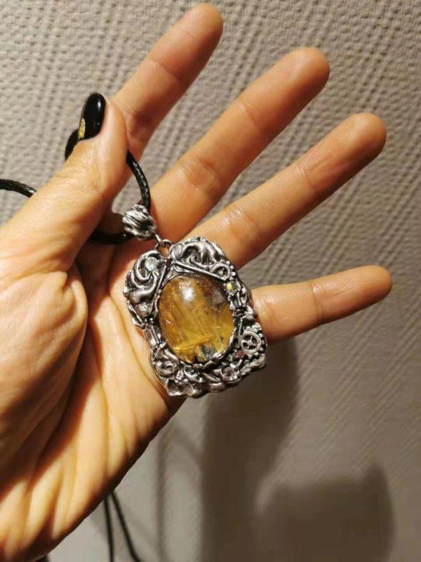 【客户返图】钛晶牌牌返图,戴菩心晶石的都是大美人-菩心晶舍