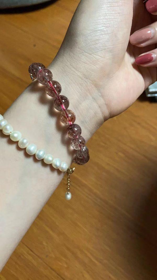 【客户返图】金草莓晶返图,杭州baby买菩心晶石,1小时到手-菩心晶舍