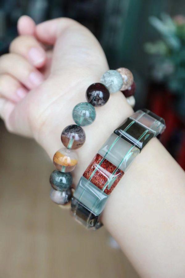 四季幽灵手链,每个珠子里都是小四季山庄-菩心晶舍