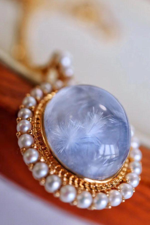 设计蓝发晶,真是一件极其幸福的事情-菩心晶舍