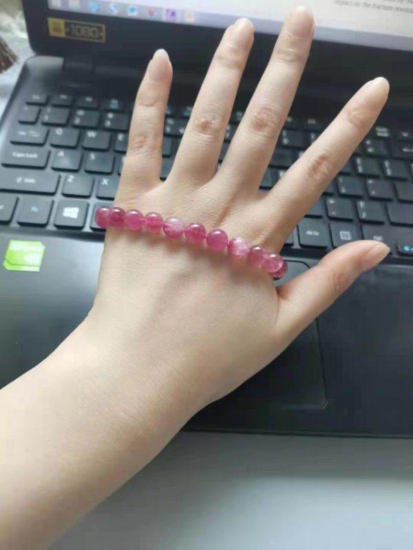 【客户返图】红碧玺,是心轮的晶石-菩心晶舍