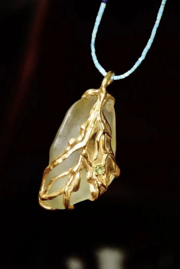 利比亚黄金陨石设计款图片大全,是你想要的模样吗?-菩心晶舍