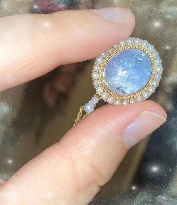 【客户返图】超美蓝发晶,每一颗都独一无二-菩心晶舍
