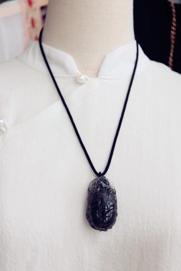 这一只黑发晶大龙龟,看上去就很安心!-菩心晶舍