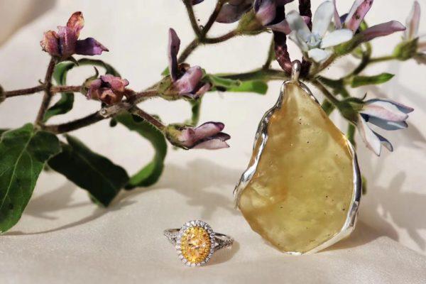 黄金陨石,真的是一种浓淡适宜的陨石-菩心晶舍