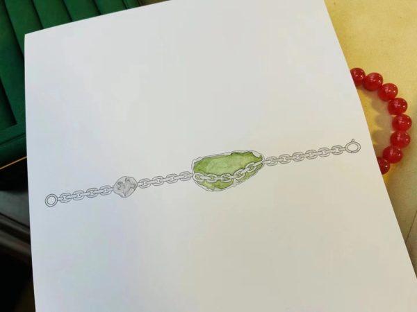 捷克陨石手链设计,走心的设计-菩心晶舍