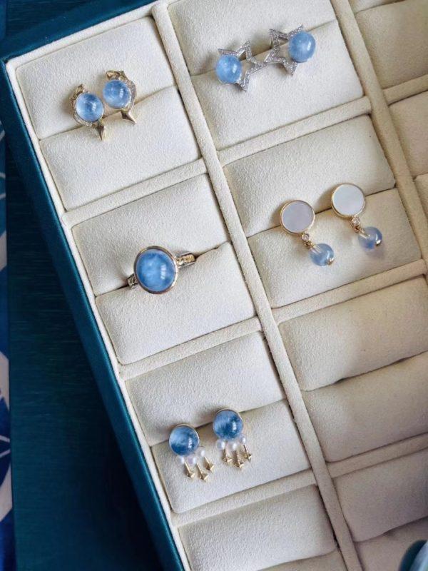 蓝发晶有什么作用?蓝发晶的一波新品-菩心晶舍