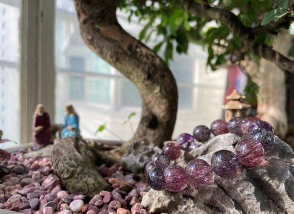 【客户返图】收藏级大超七紫发晶,趋近于一切美好-菩心晶舍