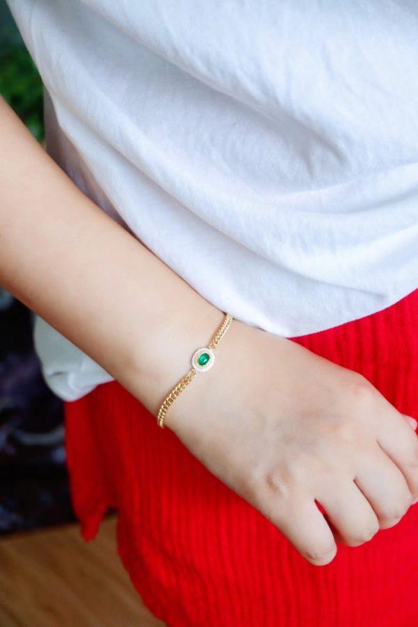 祖母绿手链,戴最服帖的珠宝,爱最自由的人-菩心晶舍