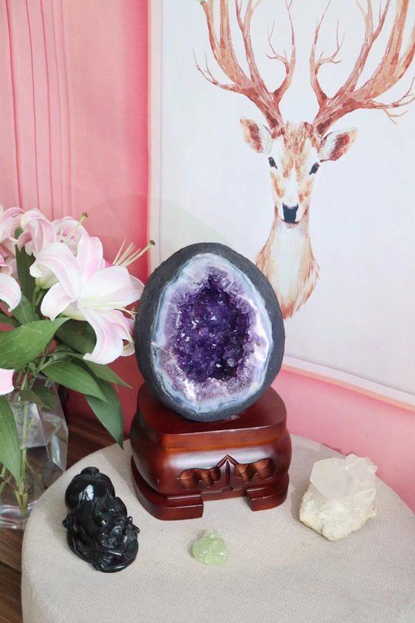 大佬都爱紫晶洞,收一只晶洞,看眼缘便可-菩心晶舍