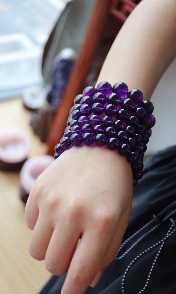 紫水晶,紫气东来,一帆风顺,菩心老粉闭眼收~-菩心晶舍