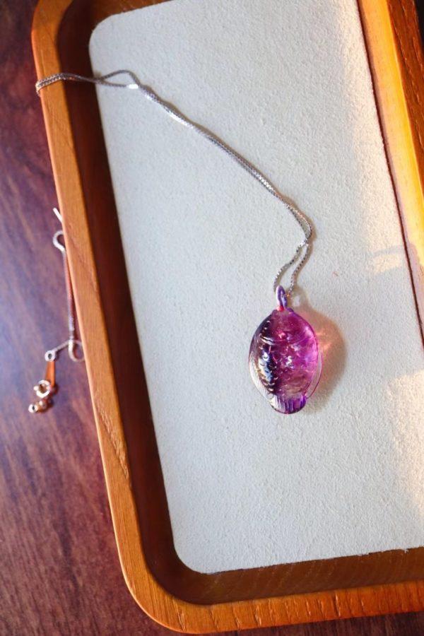 紫发晶超七锦鲤,体内自带超强彩虹-菩心晶舍
