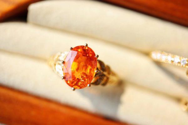 暖色橘子味的芬达石,宝石界的暖宝宝-菩心晶舍