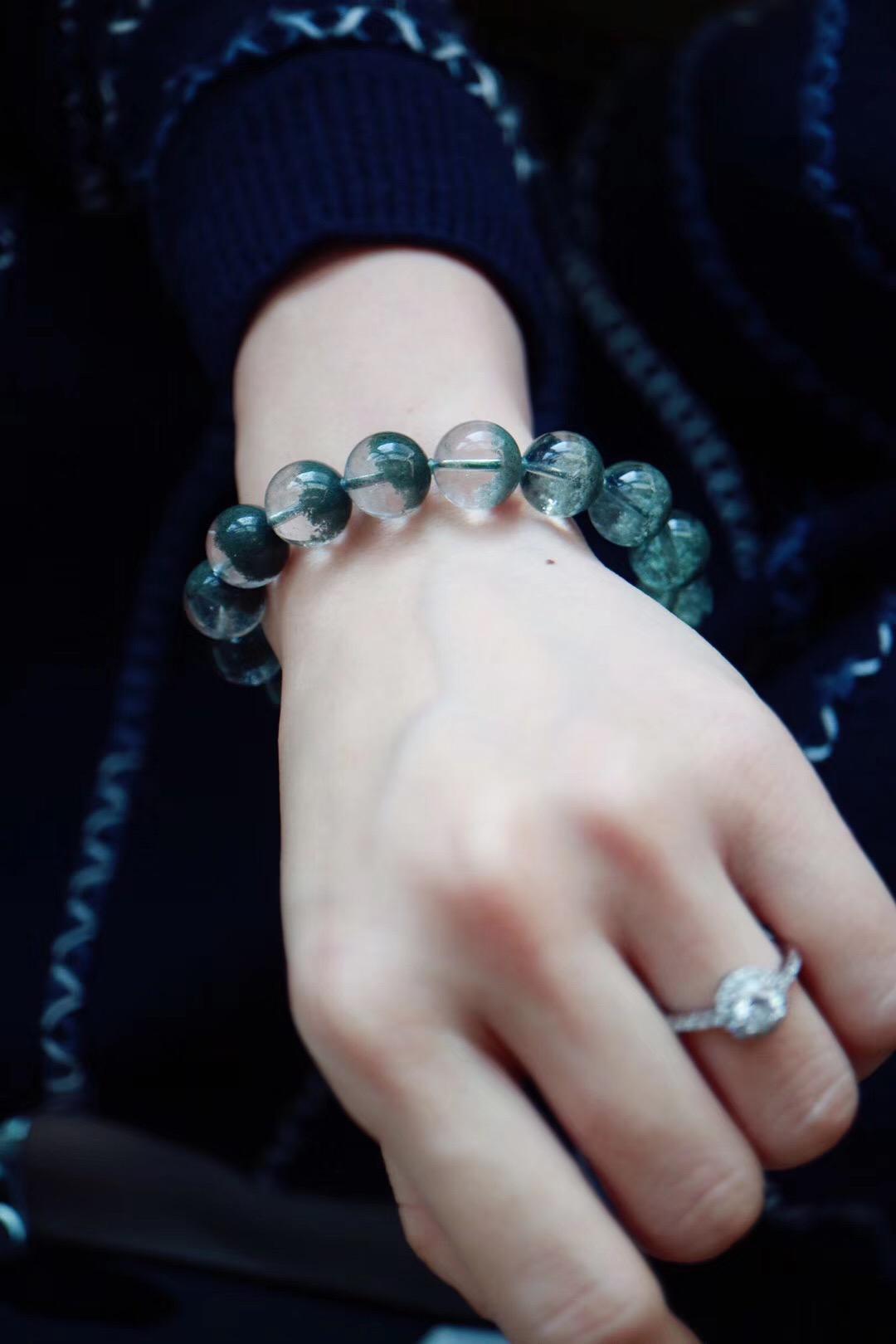 【菩心   绿幽灵聚宝盆】 疗愈心轮的晶石-菩心晶舍