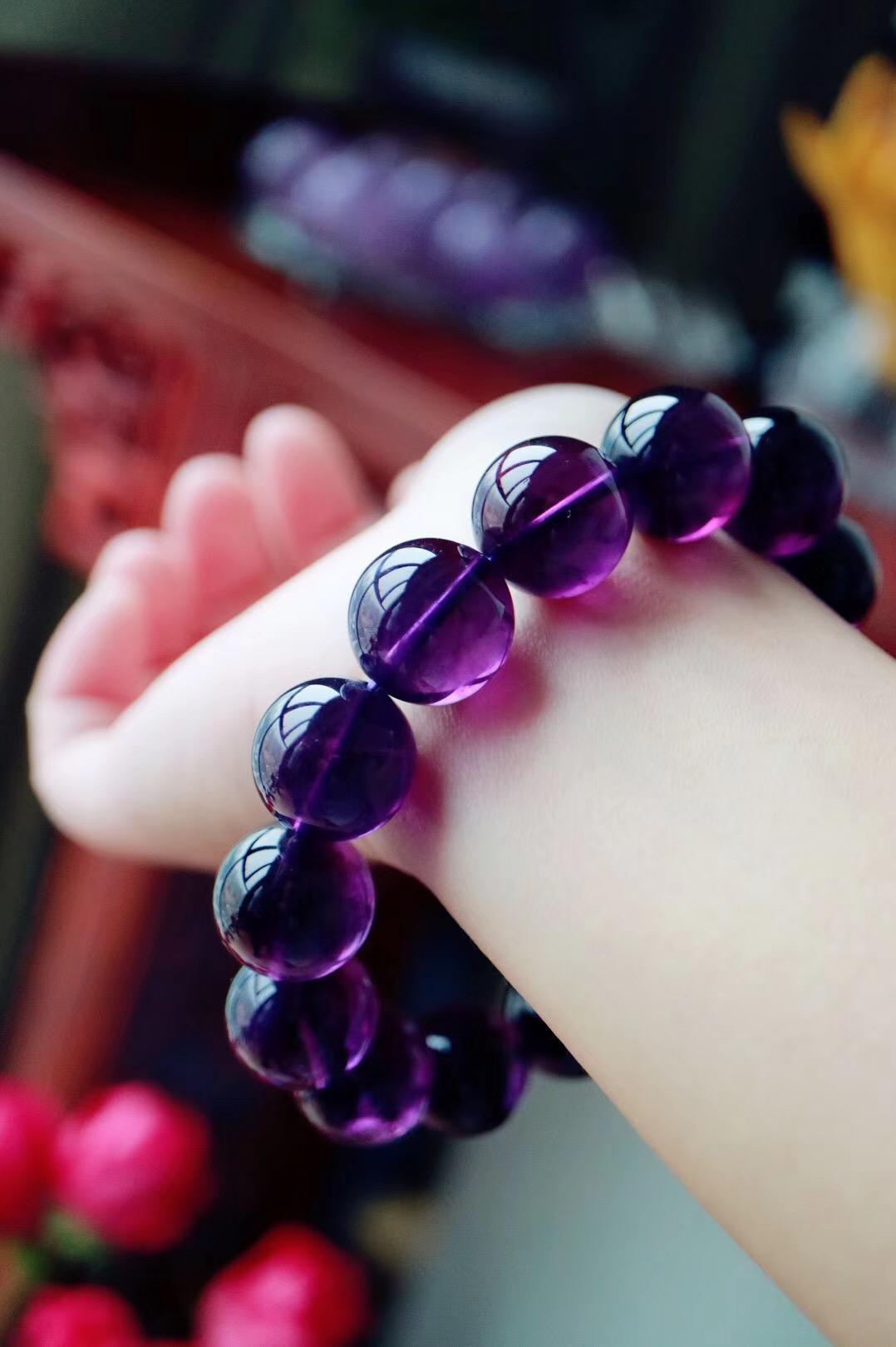 【菩心紫水晶】紫水晶,神秘而浪漫,象征宁静安神-菩心晶舍
