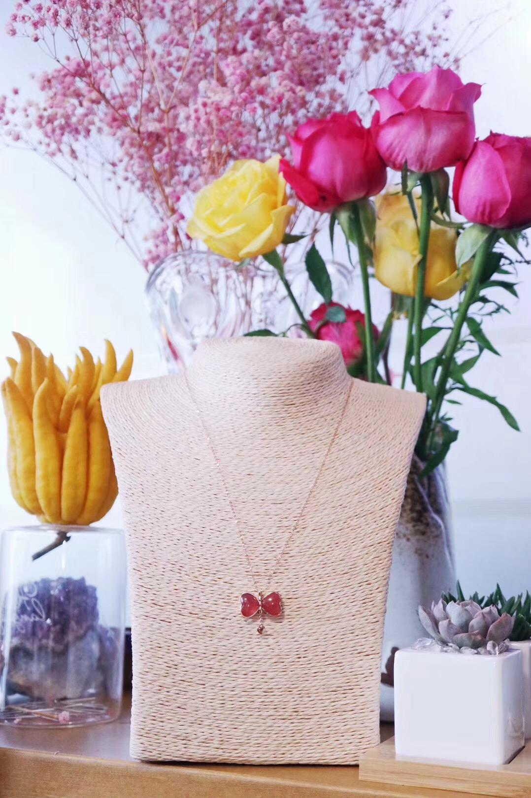 【菩心-红纹石】两款各有姿色的红纹石,在此寒冬,倍感温馨。-菩心晶舍