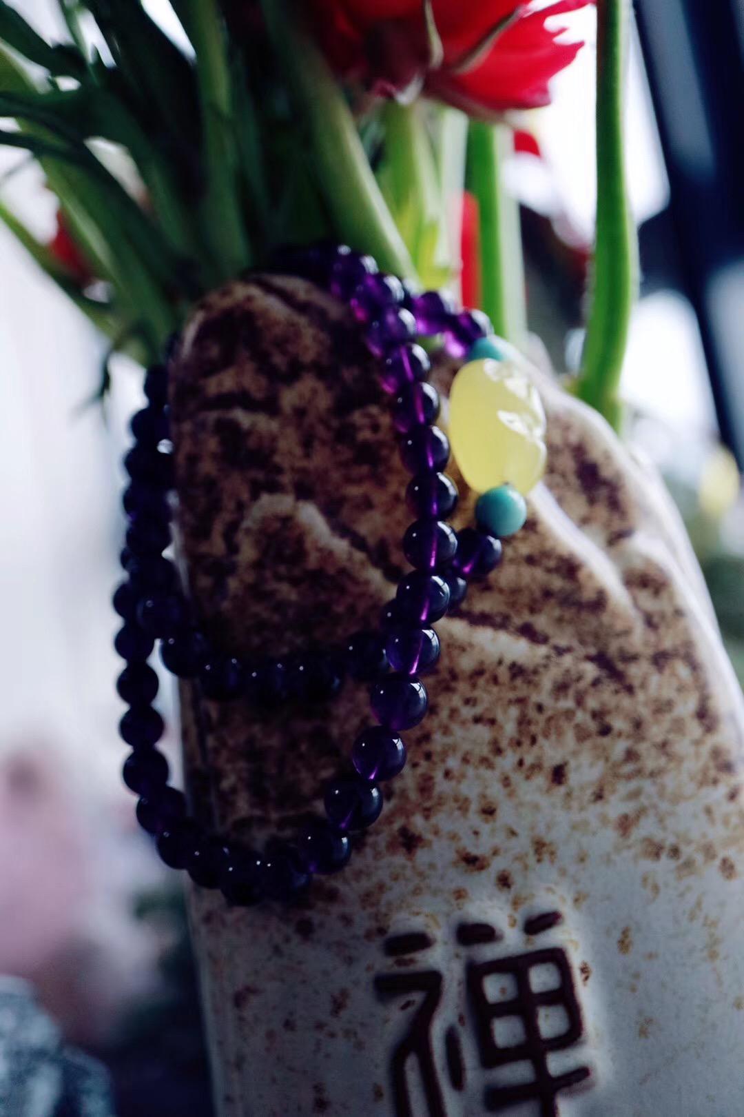 【菩心紫水晶】水瓶座的幸运石,代表灵性、精神、高层次的爱意-菩心晶舍