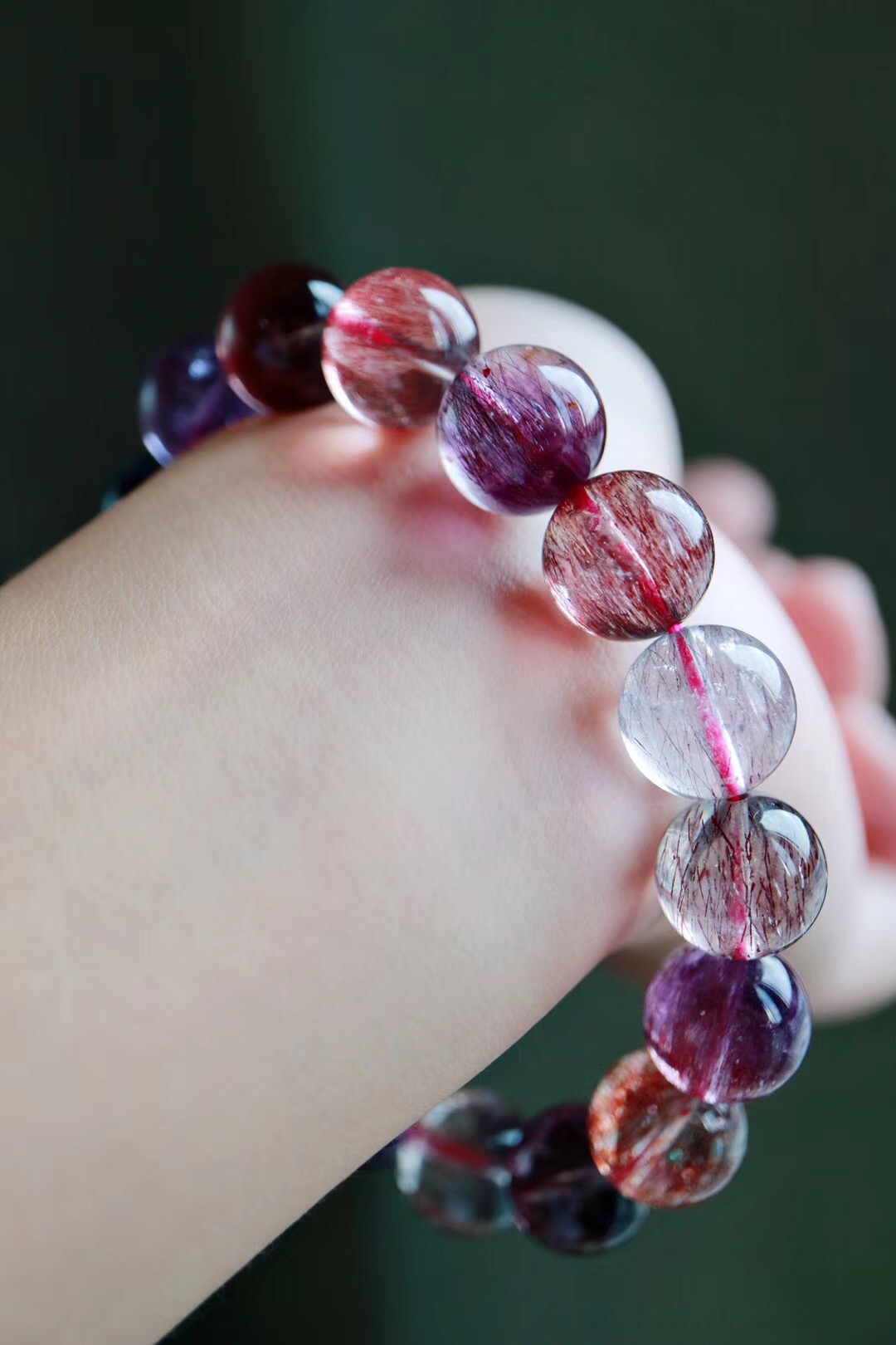 【紫发晶】纯朴清净,抚慰心灵~~-菩心晶舍