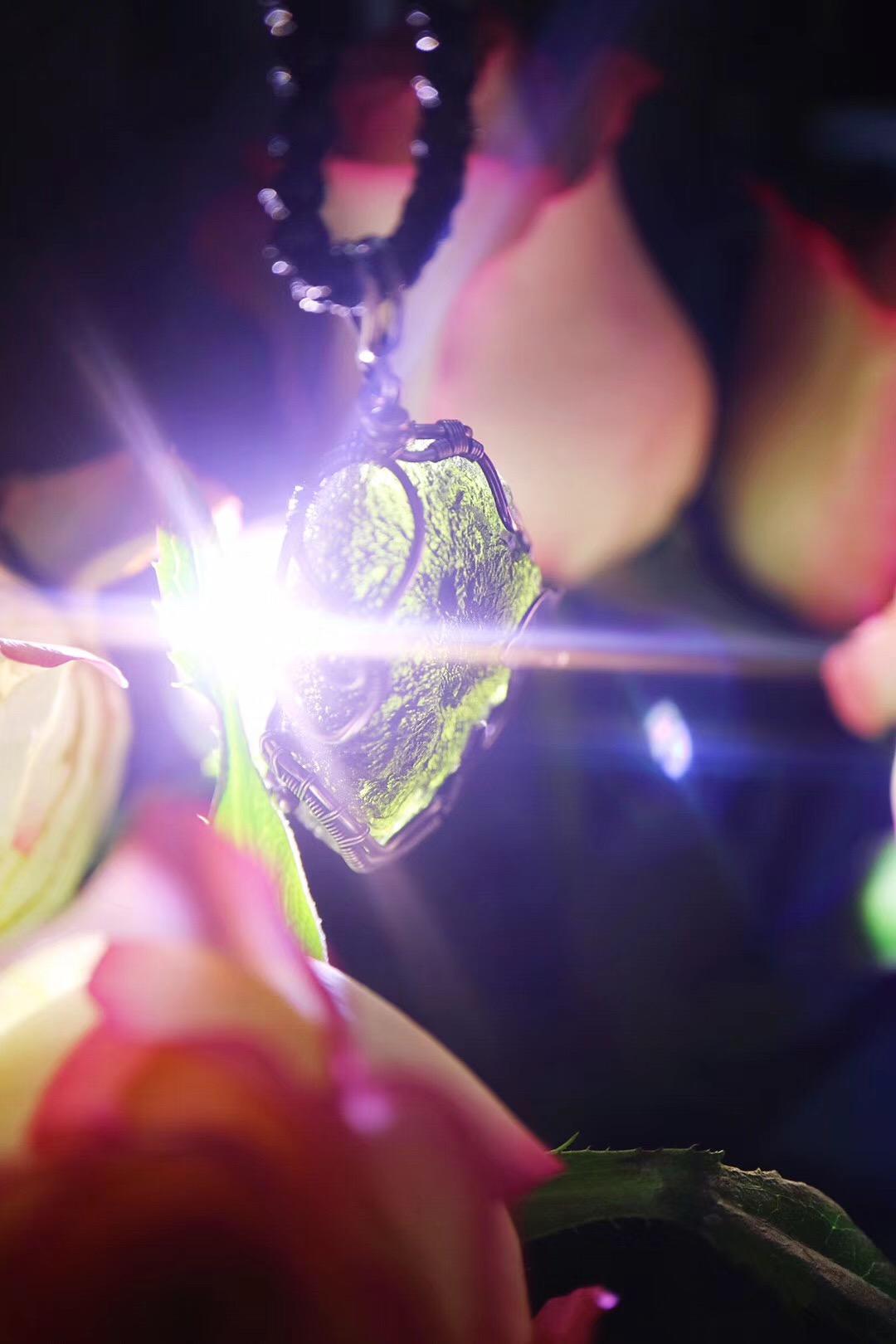 【菩心-捷克陨石】巨蟹座的海豚🐬守护石-捷克陨石定制-菩心晶舍