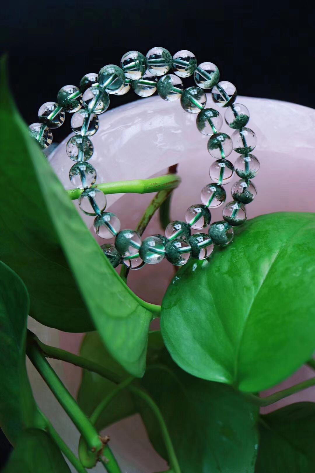 【菩心   绿幽灵聚宝盆】绿幽灵中的聚宝盆也是招财助事业效果最佳滴存在~~-菩心晶舍