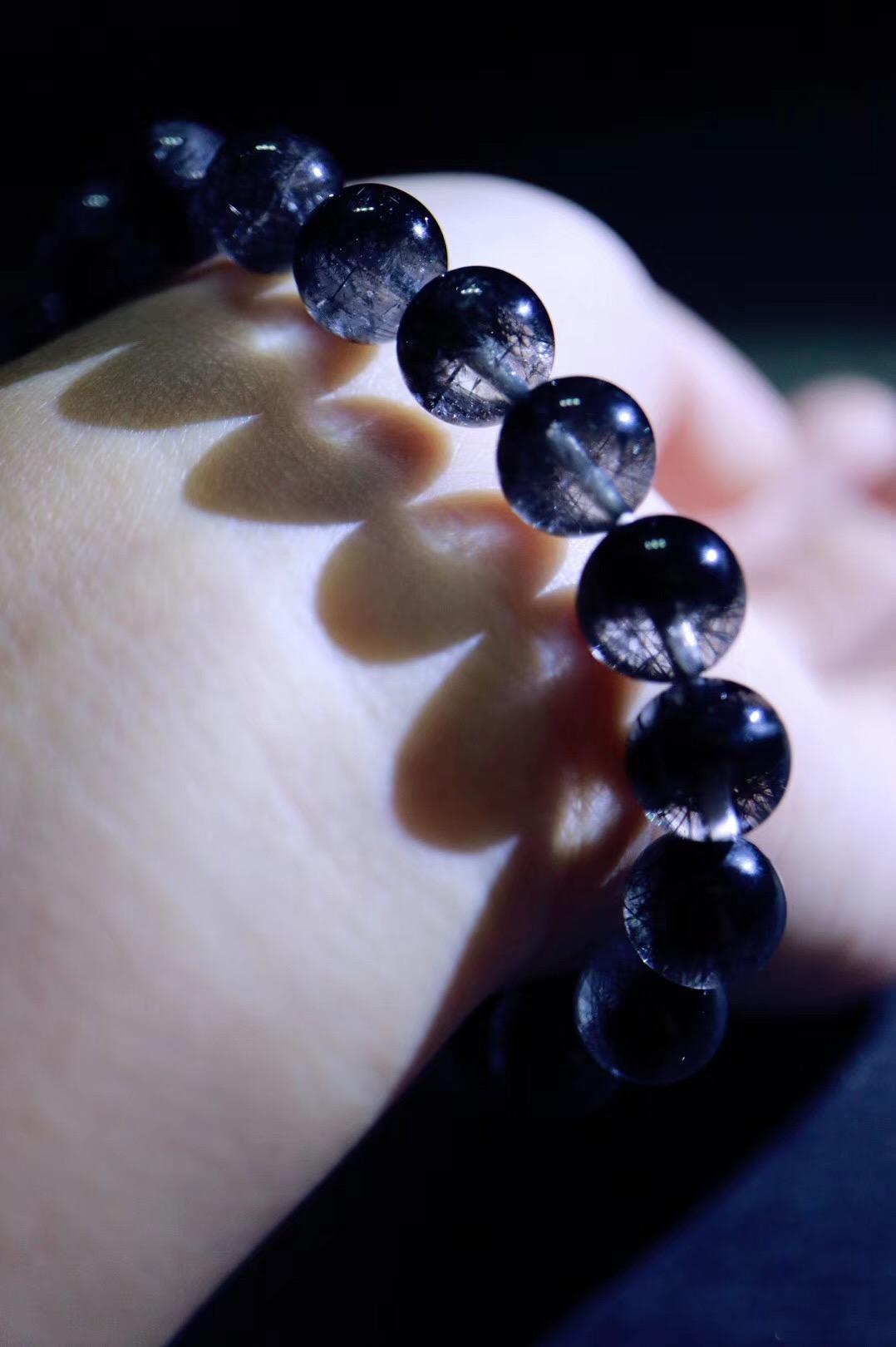 【黑发晶】罕见聚宝盆形状,招财效果更佳-菩心晶舍