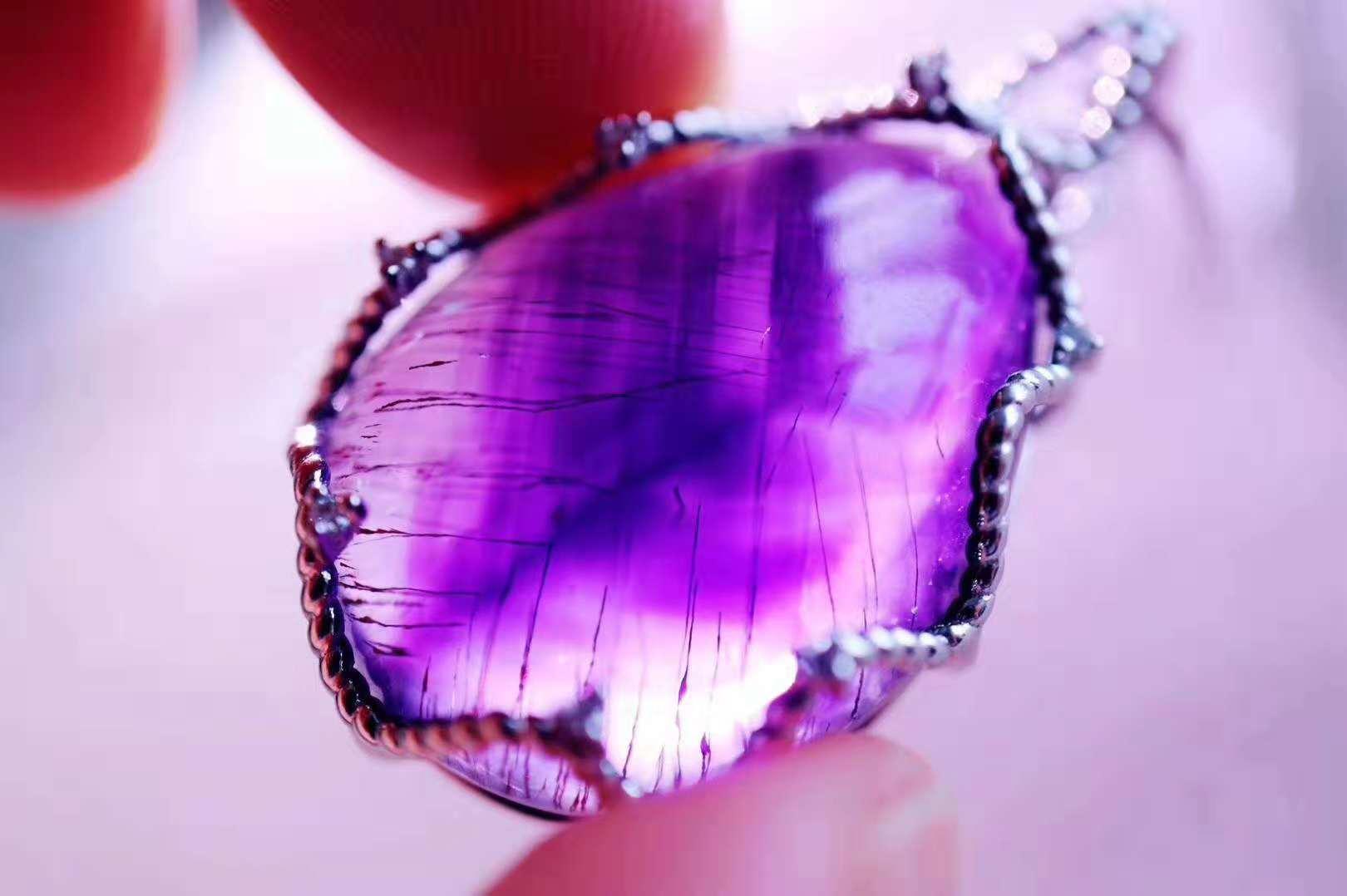 新手入坑,超七紫发晶有什么作用和功效?真的可以招财吗?-菩心晶舍