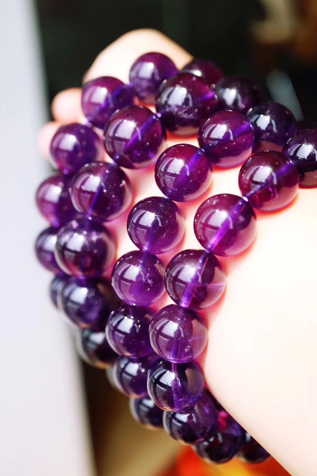 【菩心-紫水晶】乌拉圭顶级大珠子紫水晶,够大,能量够正-菩心晶舍