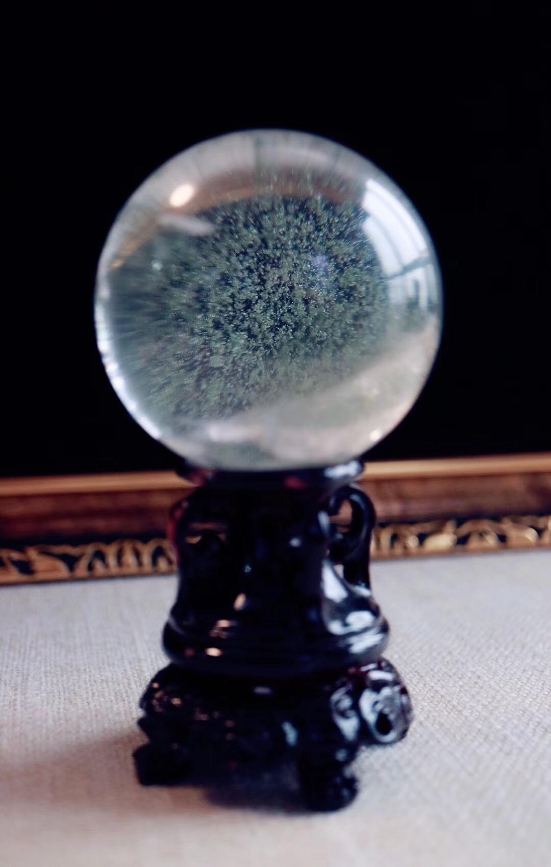 【菩心   绿幽灵球】期待你发现她更多的美~~-菩心晶舍