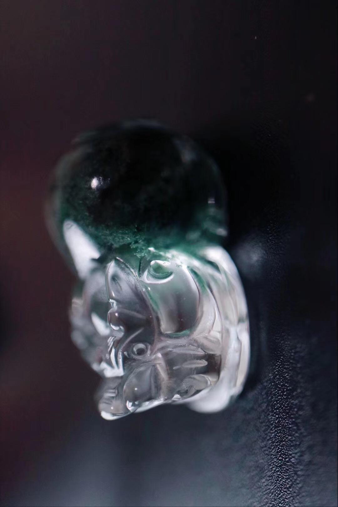 【菩心 | 极品绿幽灵貔貅】极具灵气,愿你把梦找到,过得更好-菩心晶舍