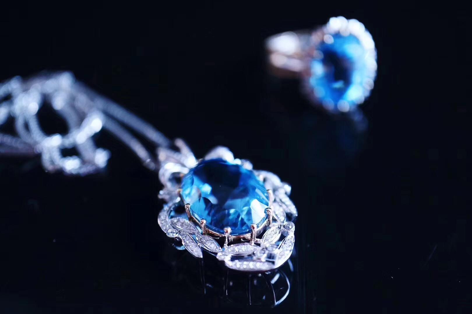 【菩心-托帕石】托帕石,代表着自信的宝石,增强表达能力-菩心晶舍