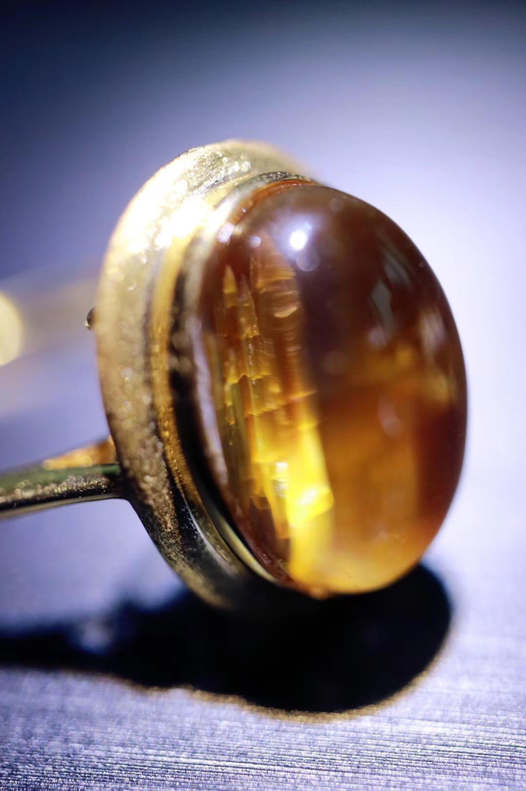 【菩心收藏级钛晶💍 | 18k】增强行动力与气场,晶体干净,板钛,收藏级-菩心晶舍