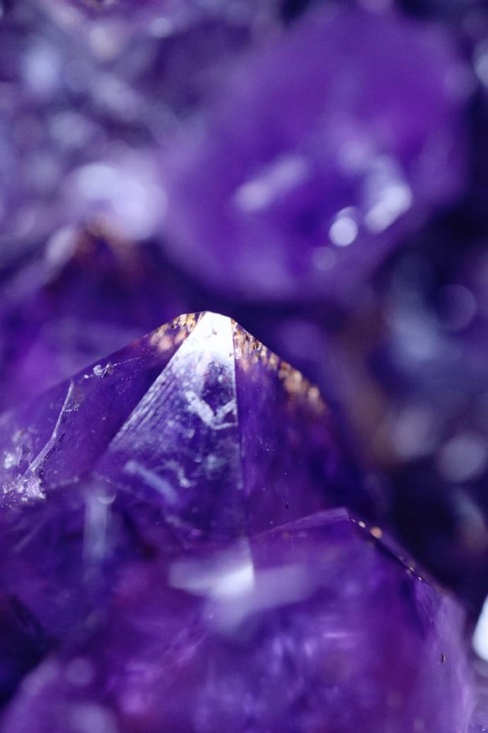 【紫晶洞|菩心】 关于晶洞,大有大的霸气,小有小的可爱-菩心晶舍
