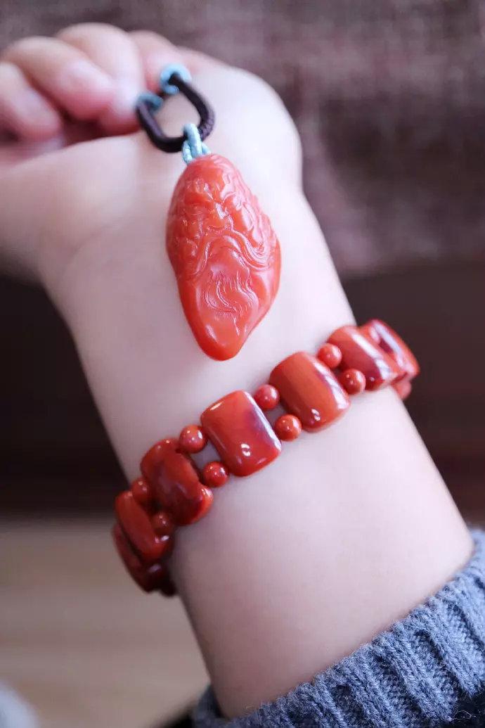 关于南红玛瑙回纹珠有什么特别的含义吗?-菩心晶舍