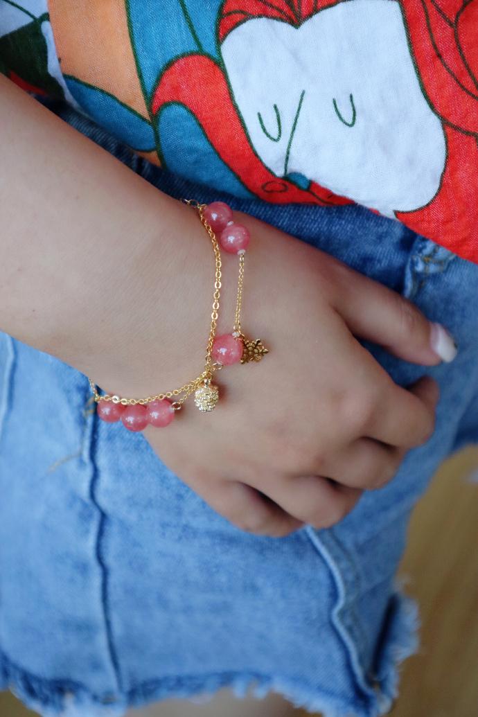 【红纹石】红纹石,心轮的晶石,给你的心更好的滋养。-菩心晶舍
