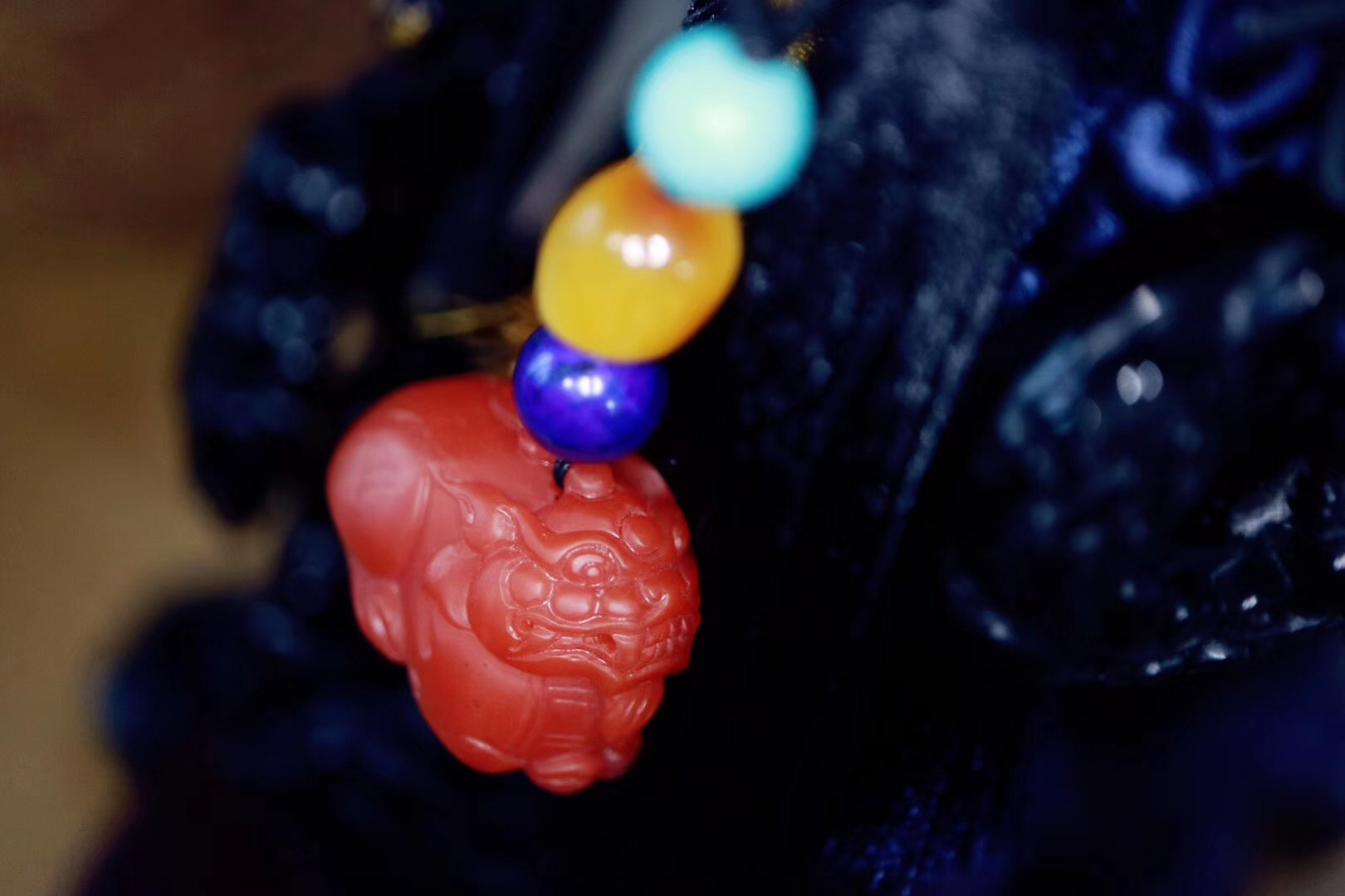 【菩心 | 南红百搭挂件】一方南红玉,自有一番鸿运在心头-菩心晶舍