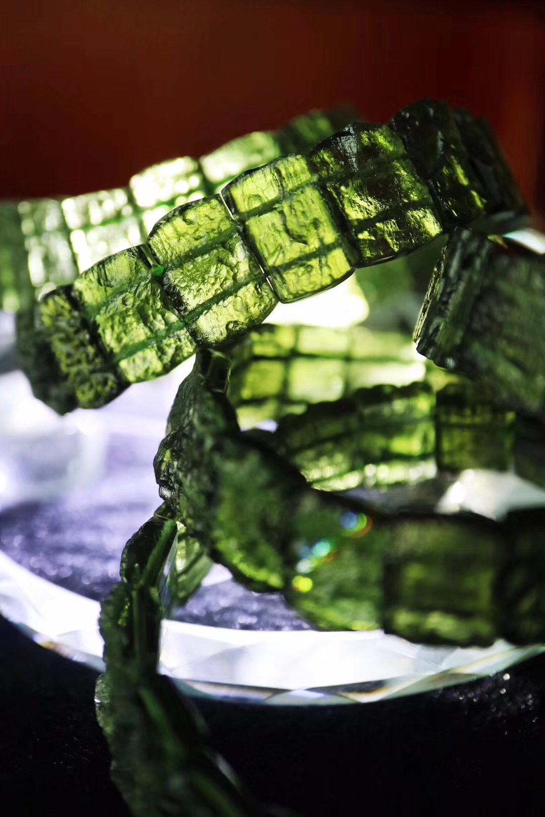【菩心-捷克陨石】一波绿色治愈系,懂的宝宝可收-菩心晶舍
