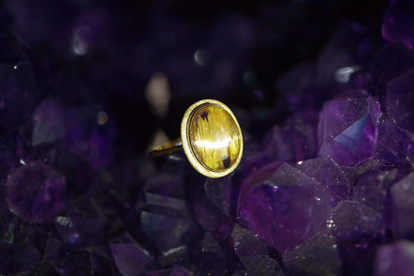 【菩心钛晶💍 | 18k】 亮晶晶✨滴小太阳,得瑟的小灵物-菩心晶舍