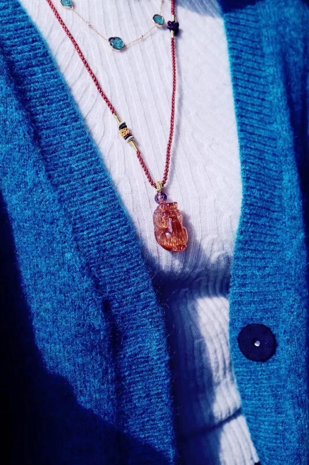 【菩心·铜发晶貔貅】你们念念不忘的铜发招财大貔貅,阳光下赞爆了-菩心晶舍