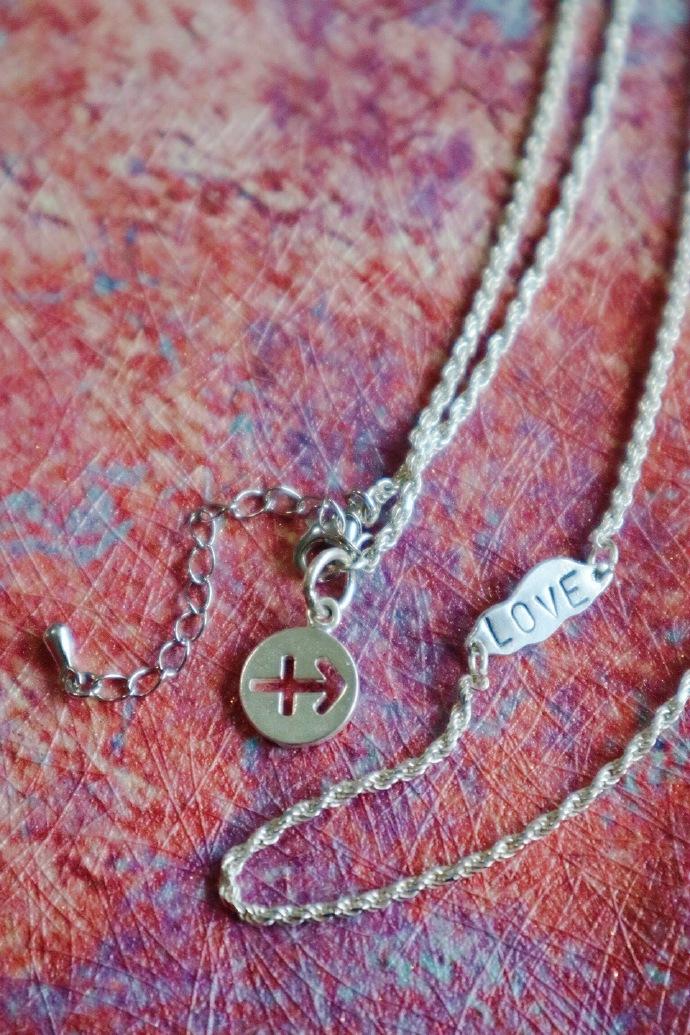 【纯手工精致银链】以爱为名,便是我想要的意义了。-菩心晶舍