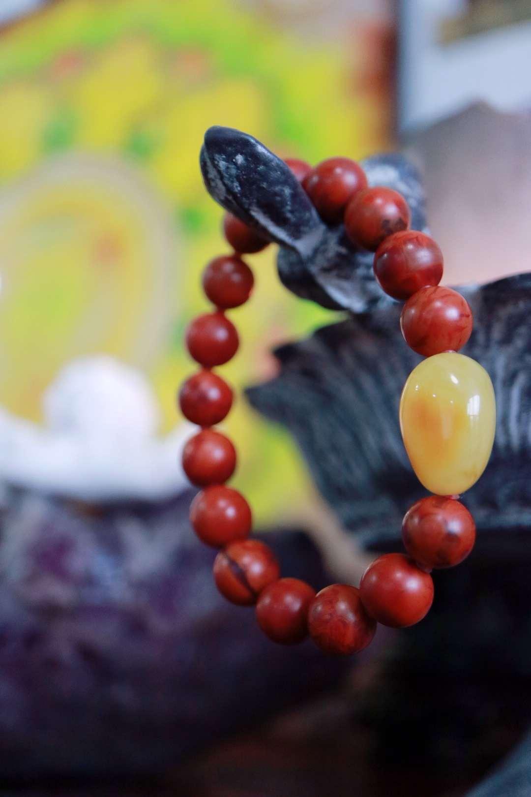 【菩心 | 包浆南红玛瑙】凉山深处最神秘的一抹红-菩心晶舍