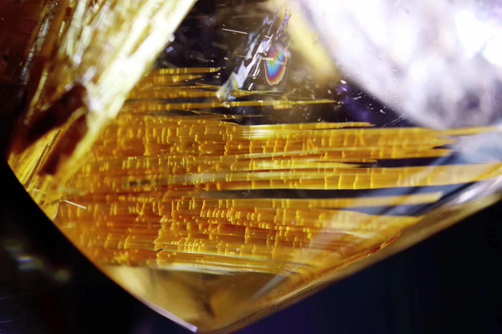 【菩心-收藏级钛晶】钛晶重器--黄财神,王者风范-菩心晶舍