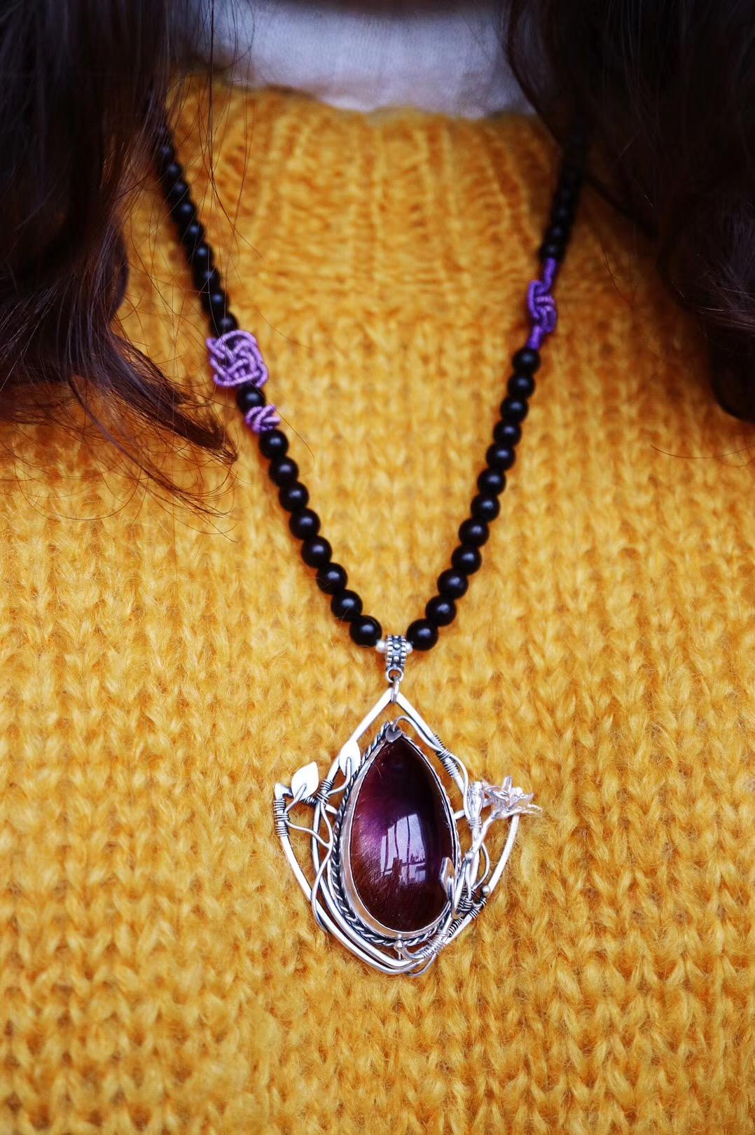 【菩心-紫发晶·鸢尾花】鸢尾花⚜️是法国的国花,象征着自由和光明-菩心晶舍