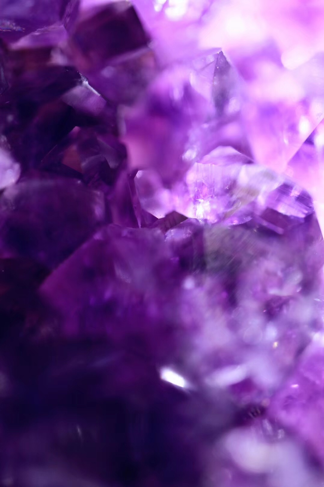 【菩心   乌拉圭紫晶簇】可带来灵感和智慧,也是最常用的风水石!-菩心晶舍