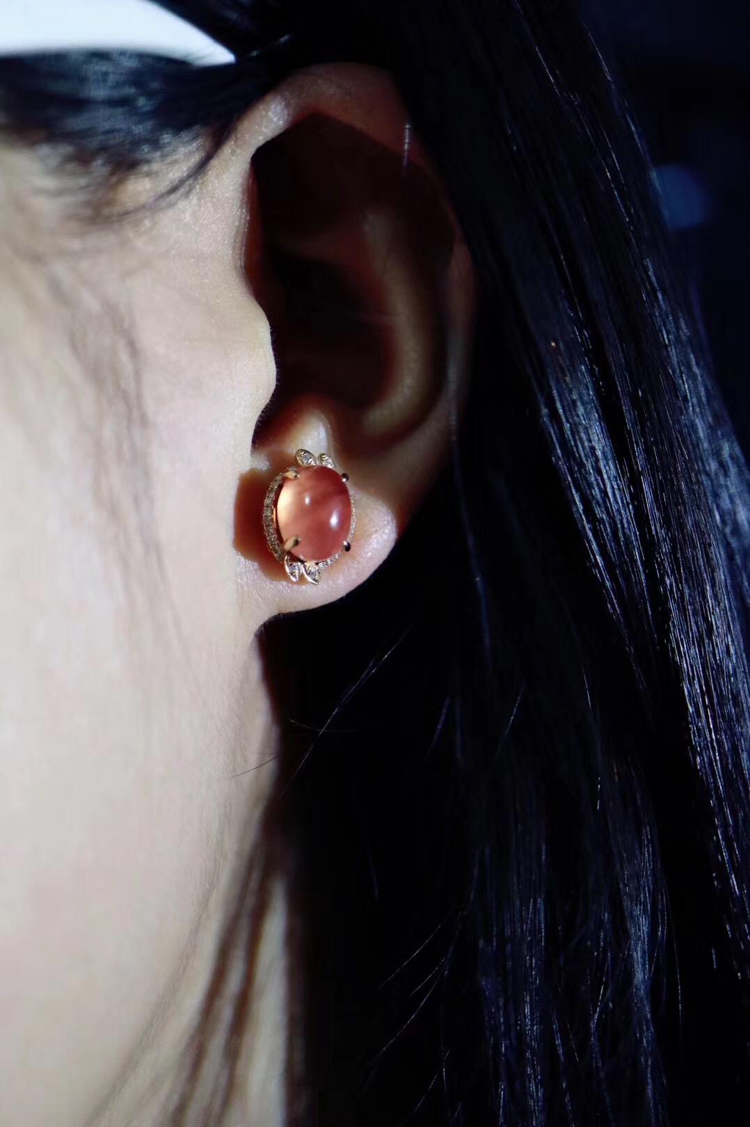 【冰种红纹石 | 18k 】让生活美的恰到好处~~-菩心晶舍
