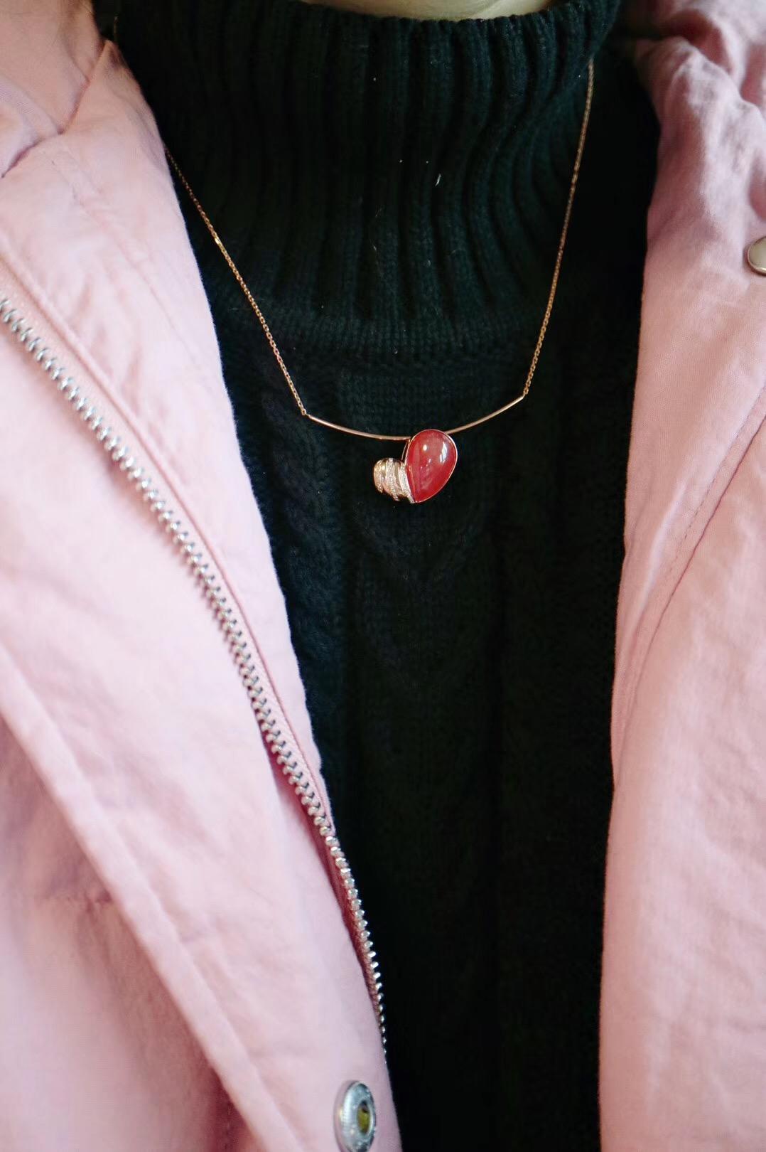 【菩心-红纹石&初心】岁月迟暮,初心不改-菩心晶舍