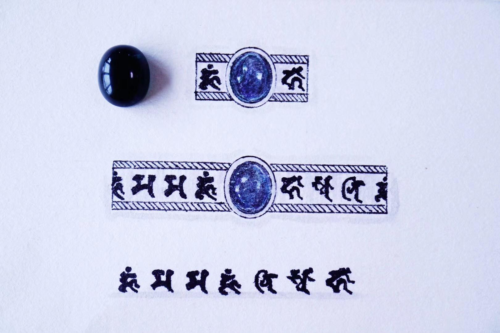 【菩心-蓝碧玺】观音菩萨和度母的加持最为灵验-菩心晶舍
