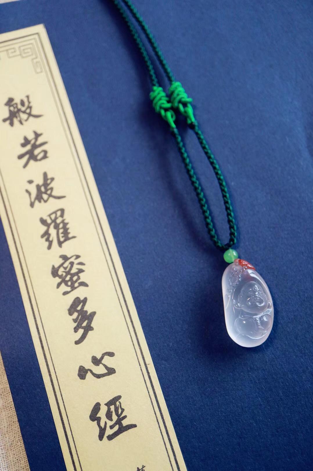 【菩心南红 | 佛引福至】充满福瑞祥和之气的弥勒佛,自在乐逍遥-菩心晶舍