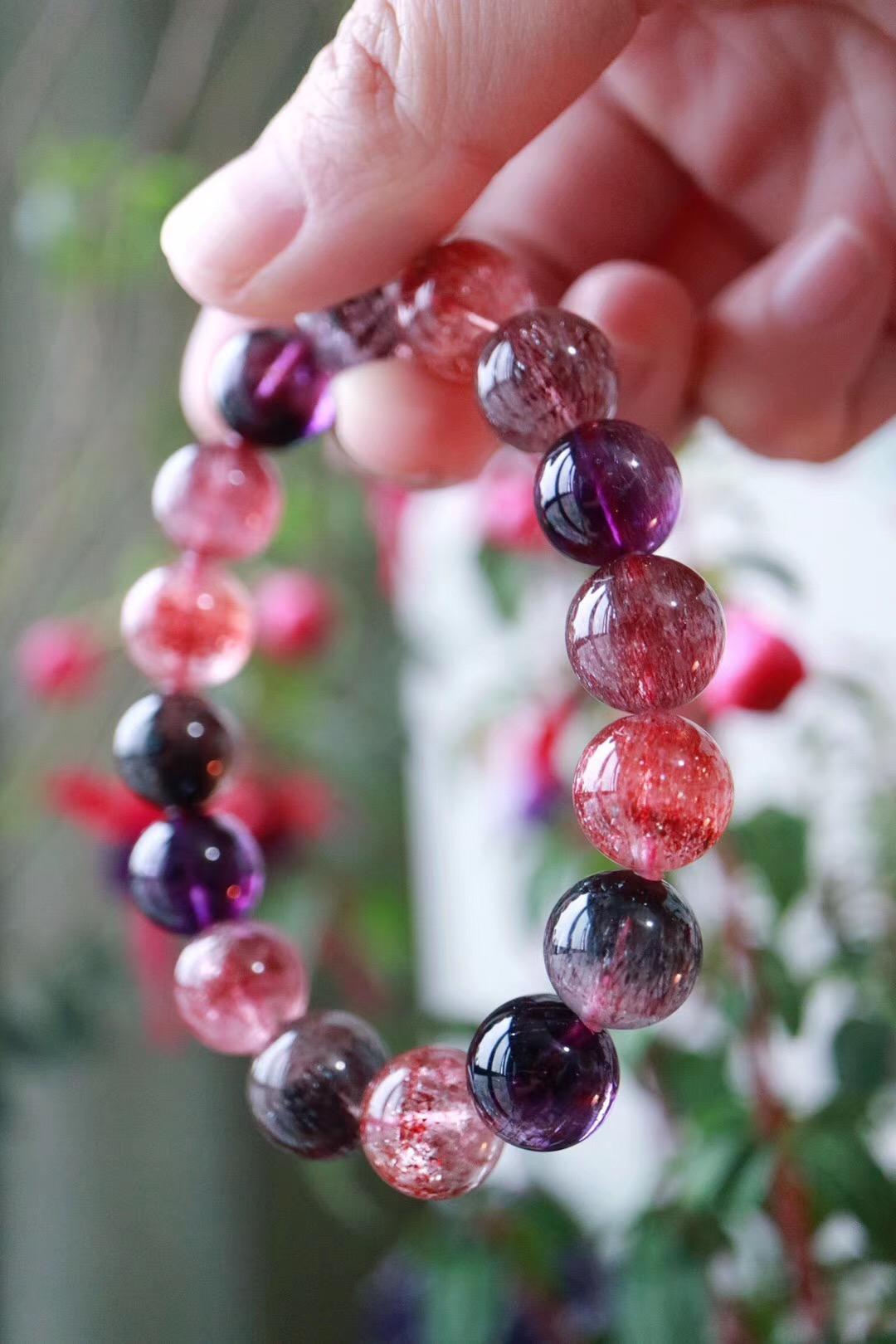 【菩心 | 超七紫发晶】能够一次性平衡、活化所有脉轮的晶石-菩心晶舍
