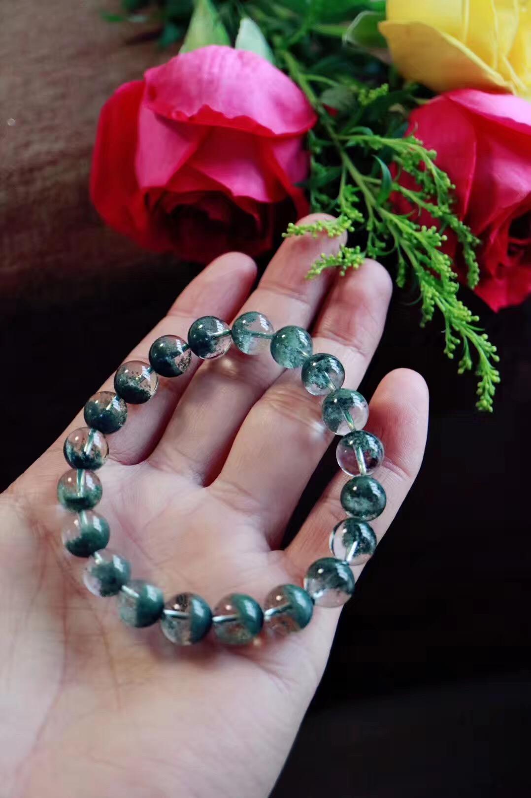 【菩心绿幽灵聚宝盆】代表着大地的能量,对心轮深深的疗愈-菩心晶舍